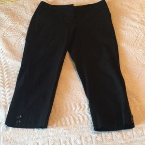 Style & co. Black stretchy capris